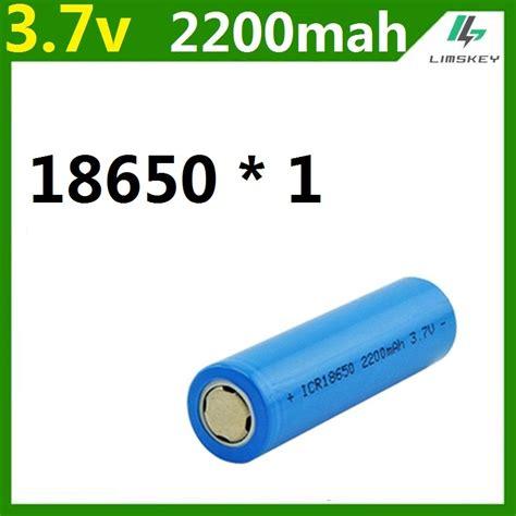 Battery 18650 3 7v Power 18650 2200mah 3 7v reviews shopping 18650 2200mah