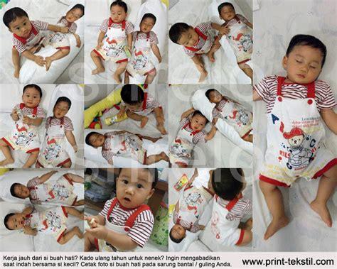 Crop Printing Spandex Bahan Lembut Halus 2 Bantal Guling Foto Anak Shrelo Textile Design Printing