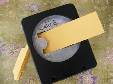 Mcgill Punches File Tab by Paper Jewels And Other Crafty Gems Mini File Tab Punch