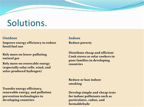 Environmental Problems And Solutions Essay by Solutions For Environmental Polluti