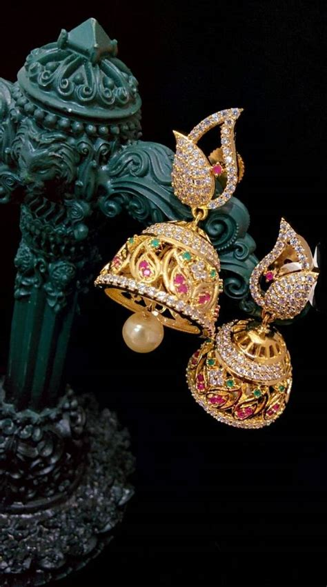 Multicolor Agate buy multicolor agate gold plated jhumkas