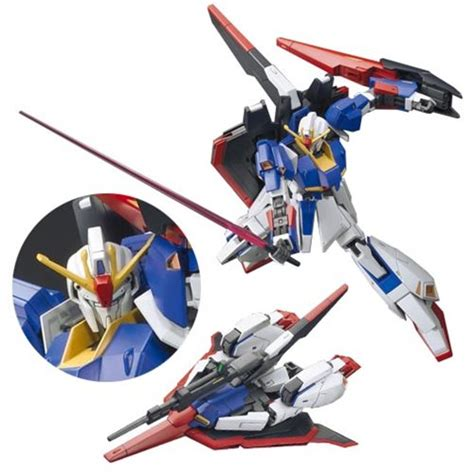 Figure Karakter Gundam Zeta Z mobil suit zeta gundam z gundam hguc figure bandai hobby gunpla gundam