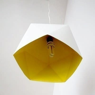 diy geo lampshade · how to make a hanging light · home