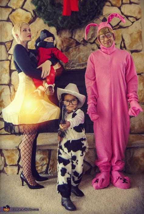 christmas story family halloween costume contest