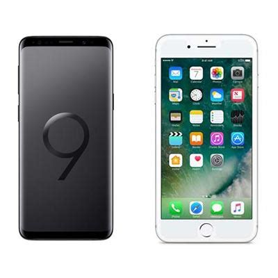 to samsung galaxy s9 vs apple iphone 8 plus page 1 crn