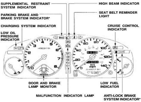 honda civic warning lights 2001 accord warning lights autos post