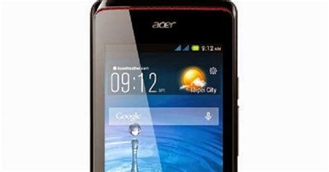 Handphone Acer Z200 spesifikasi dan harga baru acer liquid z200 handphone jos