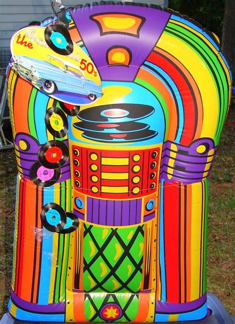 In Atable Jukebox Bright Boldlor Rainbowlors