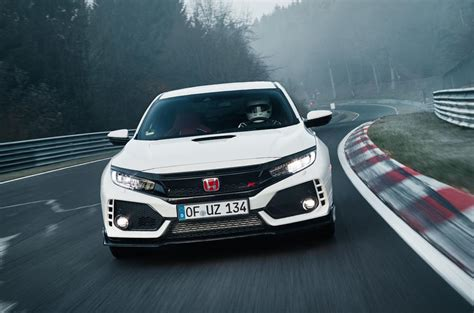Civic Type R Front Wheel Drive by Honda Civic Type R Smashes Nurburgring Fwd Record
