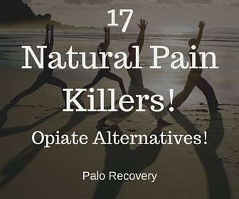 Best Way To Naturally Detox From Opiates by 17 Painkillers Opiate Alternatives