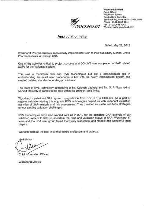 appreciation letter for completion of conducted appreciation letter morton groves pharma usa