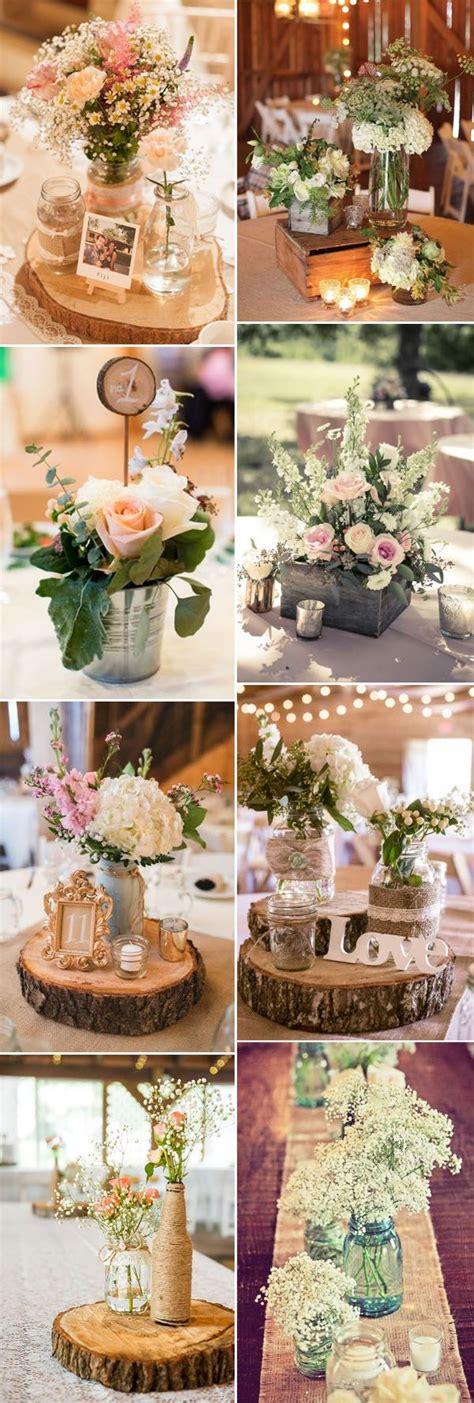creative rustic wedding centerpieces ideas pinpoint