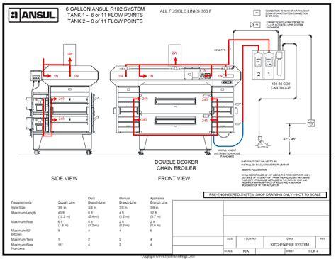ansul system wiring diagram ansul system typical wiring diagram vw alternator wiring