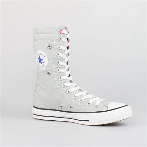 Converse Chucks Grau by Converse All Chucks X Hi Mirage Gray Grau Pink