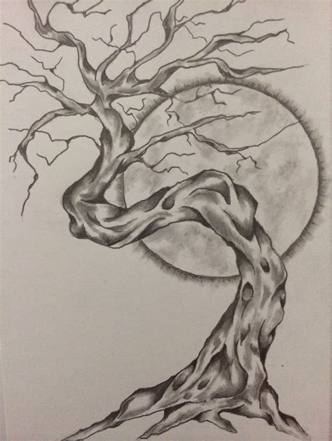sketches tattoo tree sketch by ranz obsession