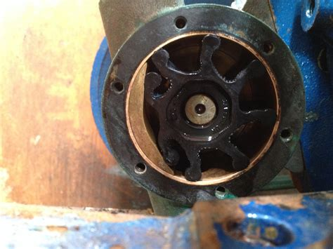 what is an impeller on a boat motor inboard engine cooling systems boats