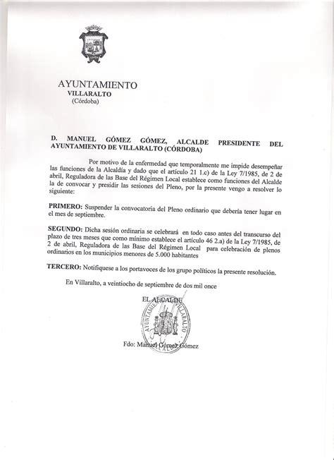 socialistas de villaralto suspension pleno ordinario de septiembre 2011