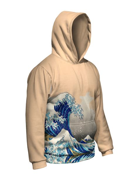 Sweater Hoodie The Amazing 2 yizzam hokusai quot the great wave kanagawa quot new mens hoodie sweater ebay