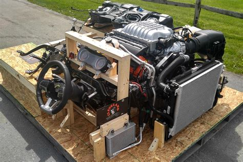 hellcat engine swap a turnkey crate hellcat conversion rod network