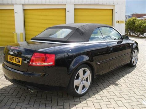 audi a4 2007 for sale used audi a4 2007 petrol 1 8t s line 2dr convertible black