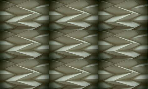 Folded Paper Designs - material manipulation my geometric patterns