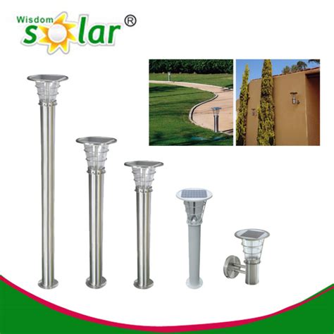 High Quality Solar Pillar Light Led Solar Garden Light Solar Lights For Pillars