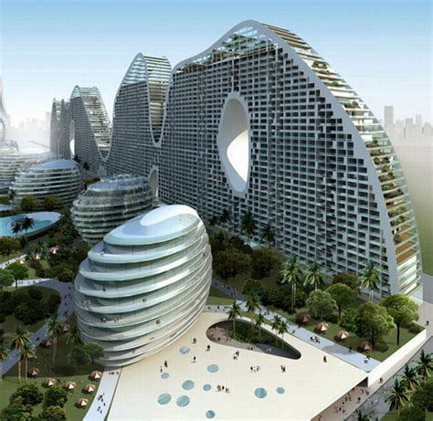 architect in chinese eco friendly fake hills in beihai china mad architects