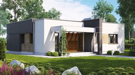 compact modern  bedroom house  large
