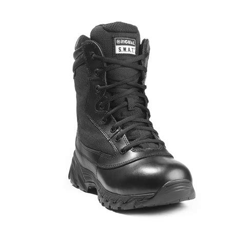 Original S W A T original s w a t 9 quot side zip waterproof boot