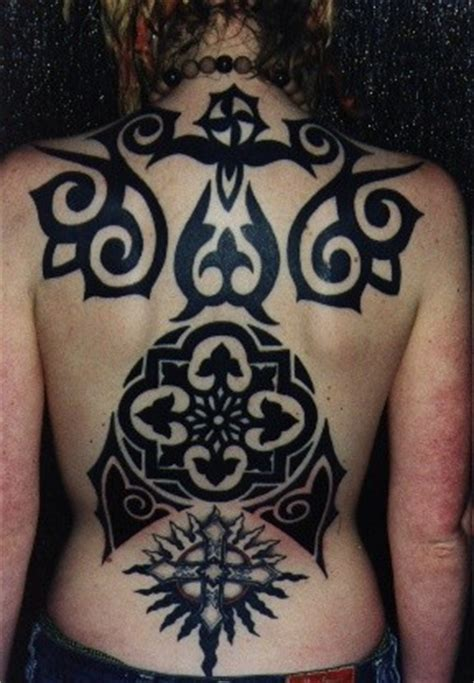 gothic tribal tattoos images designs