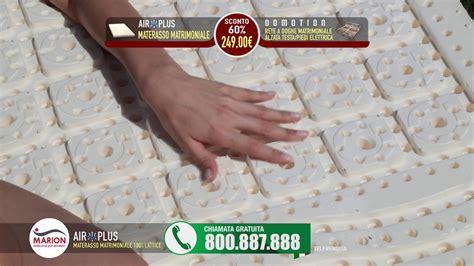 materasso in lattice marion offerta materassi marion promozione revolution