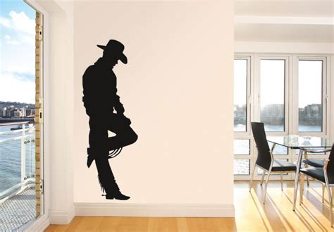 cowboy wall stickers cowboy wall sticker wall decoration pictures wall