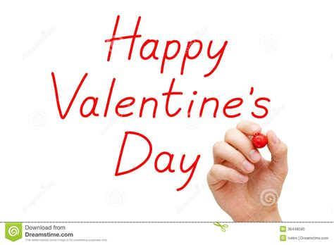 happy valentines day fancy writing happy valentines day marker stock photo image 36448590