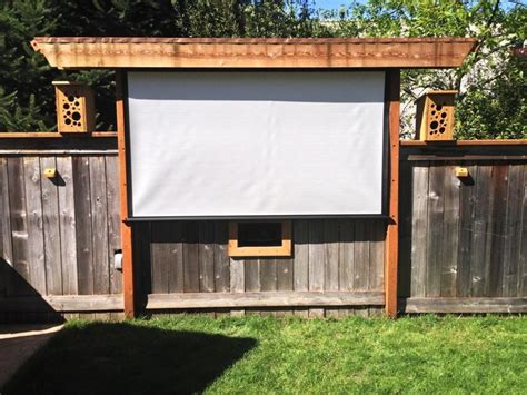 backyard projector screen 25 best ideas about outdoor speakers on pinterest