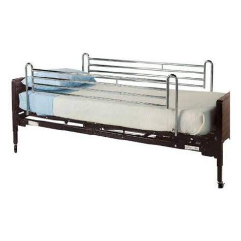 bed side rail lumex telescoping full bed side rail gf6570a 1
