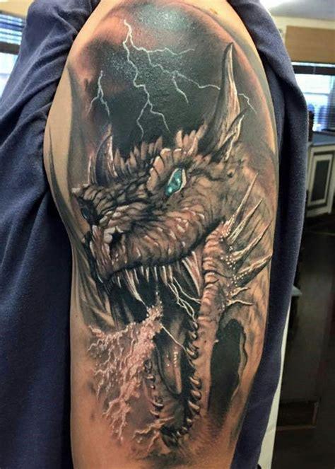 besten drachen tattoos fuer maenner