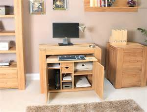 hidden office desk atlas oak hidden home office desk cmr06a