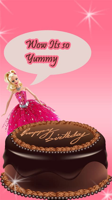 Happy birthday with barbie doll   FreeProducts