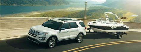 2017 explorer specs 2017 ford explorer towing capacity and engine specs