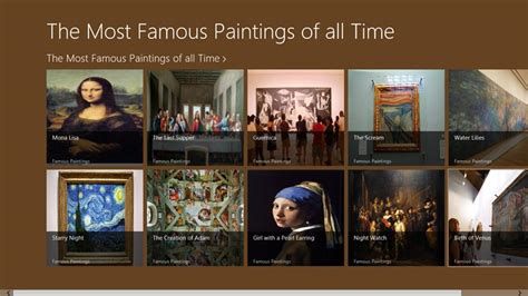 7 Most Paintings Of All Time by The Most Paintings Of All Time For Windows 8 And 8 1