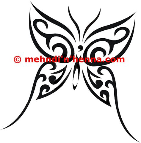 tribal butterfly tattoos butterfly henna mehndi n henna designs