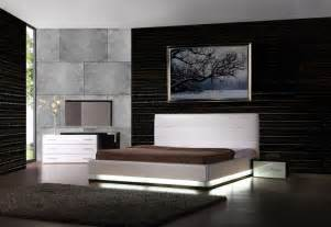 Modern Bedroom Furniture by Exotic Leather Modern Contemporary Bedroom Sets Feat Light
