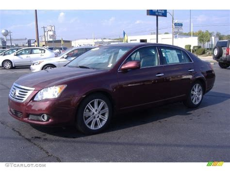 cassis color 2009 cassis pearl toyota avalon limited 55138209