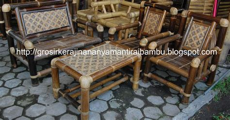 Kursi Bambu Yogyakarta jual kursi bambu jual kerajinan bambu kerajinan bambu