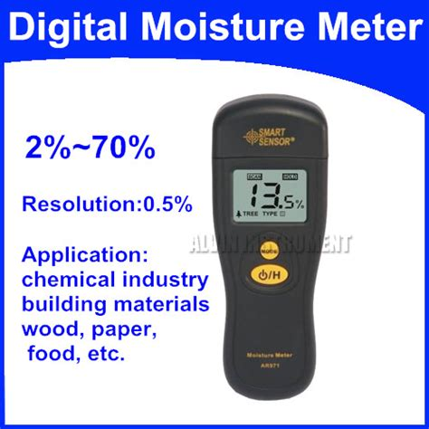 Tester Application by Free Shipping Digital Moisture Meter Tester Application Chemical Industry Building Materials