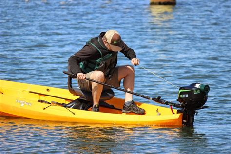 row your boat weed version motorized fishing kayaks nucanoe hunting and fishing