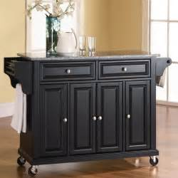 kitchen carts islands cool solid quality is yours with the solid granite top kitchen cart island bring traditional