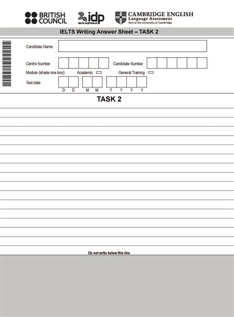 blank answer sheet template 1 100