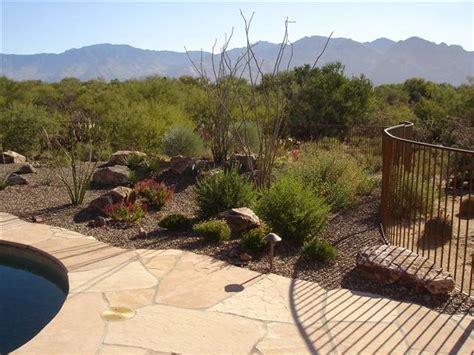 Landscape Rock Tucson Tucson Backyard Gardening Ideas Photograph Tropical Landsc