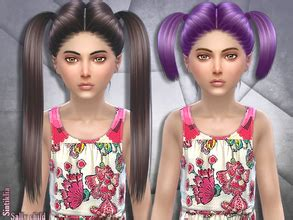 sims 4 hair 'child'